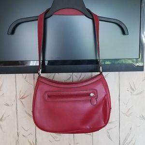 NWOT Liz Claiborne Red Shoulder Bag